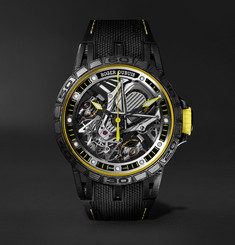 Roger Dubuis Excalibur Aventador S Limited Edition Skeleton 45mm Multilayer Carbon and Titanium Watch