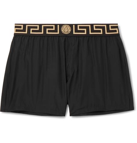 55d915bc1390e Versace - Slim-Fit Short-Length Swim Shorts