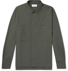 Mr P. Oversized Cotton-Ripstop Shirt