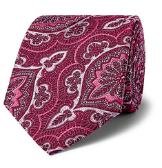 Kingsman + Turnbull & Asser Rocketman 8cm Silk-Jacquard Tie