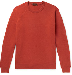 Altea Virgin Wool and Cashmere-Blend Sweater