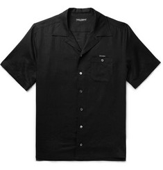 Dolce & Gabbana Camp-Collar Linen Shirt