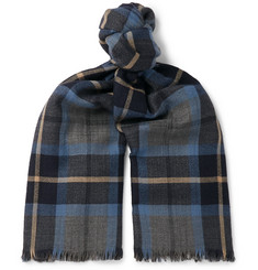 59d9687478eec Loro Piana - Baily Checked Cashmere Scarf