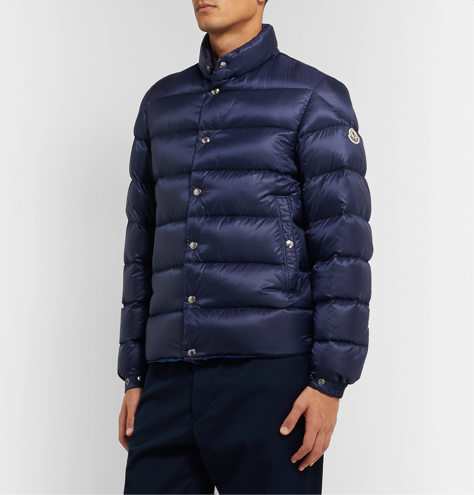 d850f8715 Moncler - Piriac Slim-Fit Quilted Shell Down Jacket