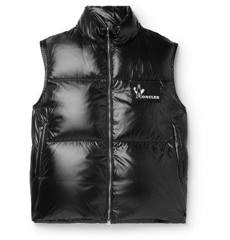 6ad3619f18 Moncler - Banker Slim-Fit Quilted Shell Down Gilet