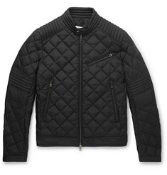 Moncler - Breitman Quilted Shell Down Biker Jacket