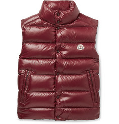 Moncler Tib Slim-Fit Quilted Shell Down Gilet