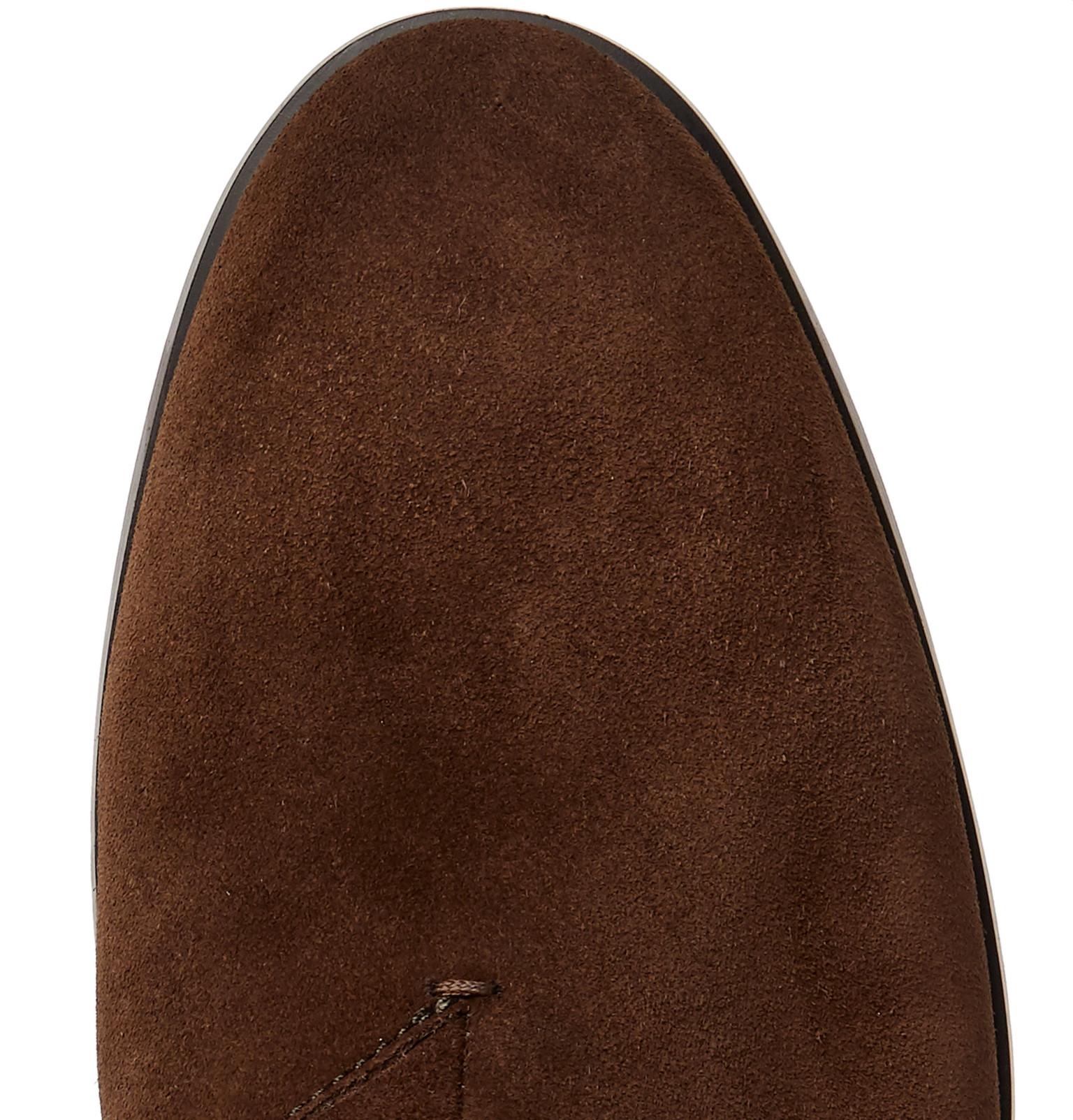 2ab1894e Ermenegildo Zegna - Siena Flex Suede Chelsea Boots