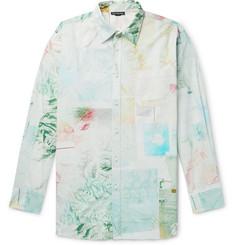 Acne Studios Oversized Printed Cotton-Poplin Shirt