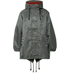 Acne Studios - Logo-Appliquéd Nylon Hooded Parka