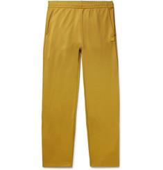 Emmett Tech-jersey Logo-appliquéd Track Pants - Saffron