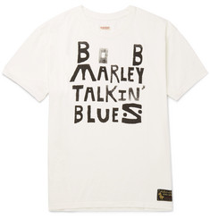 KAPITAL + Bob Marley Printed Cotton-Jersey T-Shirt