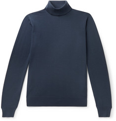 Giorgio Armani Slim-Fit Virgin Wool Rollneck Sweater