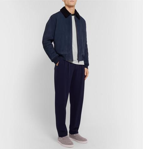 Slim Fit Jersey T Shirt by Giorgio Armani