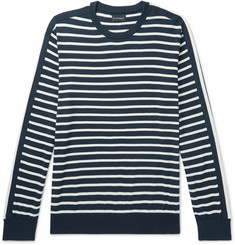 Club Monaco Striped Cotton Sweater