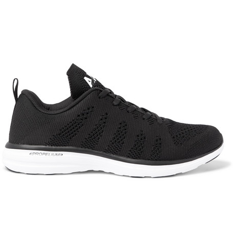 Apl Athletic Propulsion Labs Techloom Pro Running Sneakers In Black