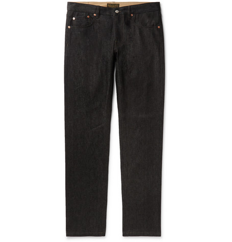 BELSTAFF | Belstaff - Longton Slim-Fit Selvedge Denim Jeans - Black | Goxip