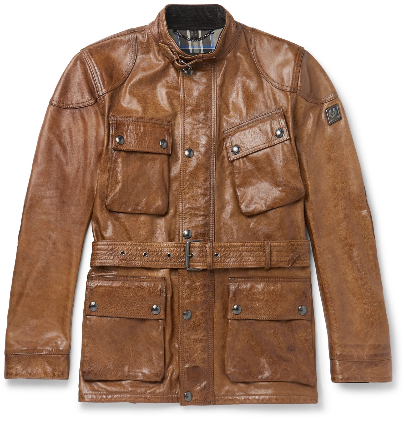 da35189a34 Belstaff - Trialmaster Leather Jacket