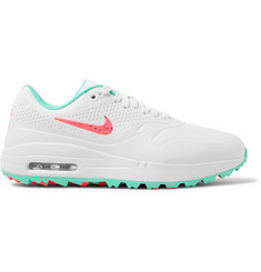 Nike Golf - Air Max 1G Coated-Mesh Golf Shoes