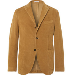 Boglioli - Tan K-Jacket Slim-Fit Unstructured Stretch-Cotton Corduroy Suit Jacket