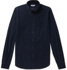 Boglioli Slim-Fit Button-Down Collar Cotton-Corduroy Shirt