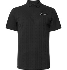 Nike Tennis NikeCourt Advantage Dri-FIT Jacquard Tennis Polo Shirt
