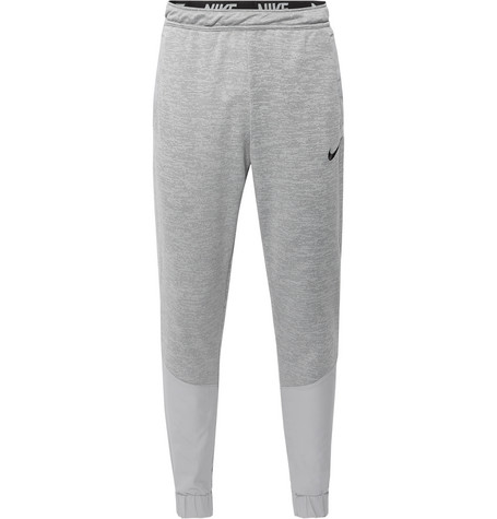 Nike Training Tapered Panelled Loopback Dri-FIT Track Pants