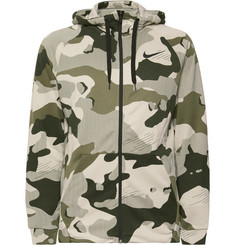 Nike Training Camouflage-Print Dri-FIT Zip-Up Hoodie