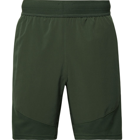 Nike Training Flex Tech Pack Ripstop-Panelled Stretch-Jersey Shorts
