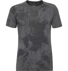 Nike Running Tech Pack Printed Stretch-Mesh Running T-Shirt