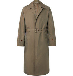 Auralee Cotton-Gabardine Trench Coat