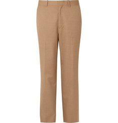 Auralee - Wool and Silk-Blend Trousers