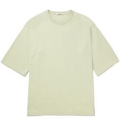 Auralee Oversized Cotton-Jersey T-Shirt