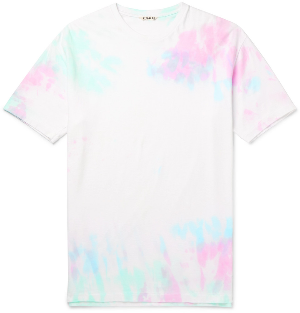 Tie-dyed Cotton-jersey T-shirt - Multi
