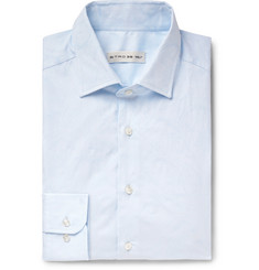 Etro Slim-Fit Cotton-Jacquard Shirt