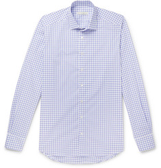 Etro Slim-Fit Checked Cotton-Poplin Shirt