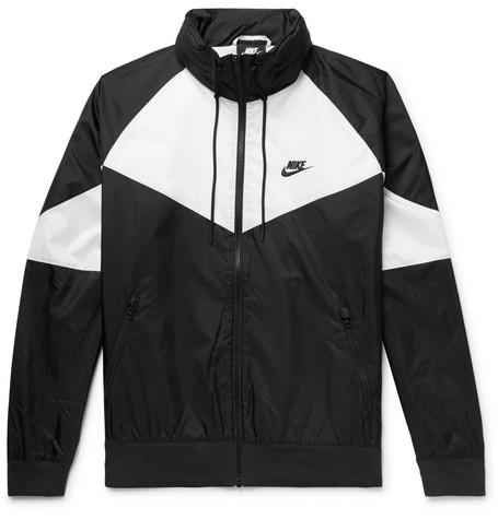 3308178e7 Nike - Sportswear Windrunner Colour-Block Nylon Hooded Jacket