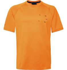 Nike Sportswear Tech Pack Logo-Appliquéd Tech-Jersey T-Shirt