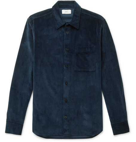 Mr P. Cotton-Blend Corduroy Shirt