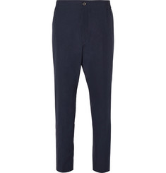 Gucci Tapered Cotton-Poplin Trousers