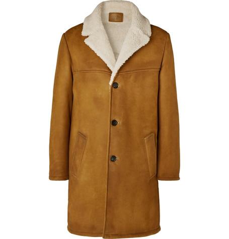 Shearling Coat by Prada