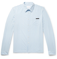 Prada Striped Stretch-Nylon Shirt