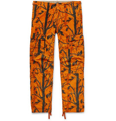 Carhartt WIP Aviation Slim-Fit Printed Cotton-Ripstop Cargo Trousers