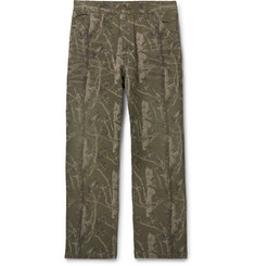 Carhartt WIP Camouflage-Print Cotton-Canvas Cargo Trousers