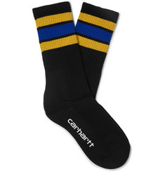 Carhartt WIP Grant Striped Stretch Cotton-Blend Socks
