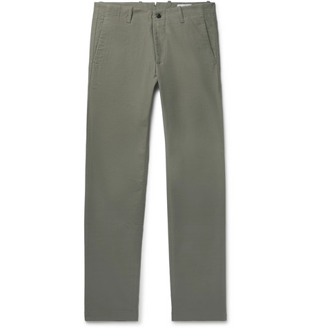 Steven Stretch Cotton Twill Chinos by Nn07