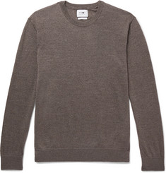 NN07 Ted Mélange Merino Wool Sweater