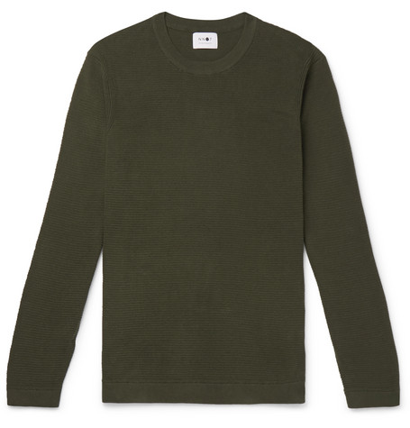 NN07 Julian Mélange Cotton Sweater