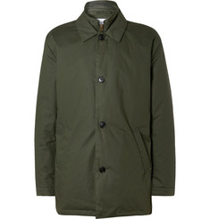 NN07 Blake Waxed-Cotton Coat with Detachable PrimaLoft Liner