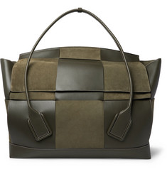 Bottega Veneta Intrecciato Suede and Leather Holdall